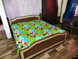It is king size bed