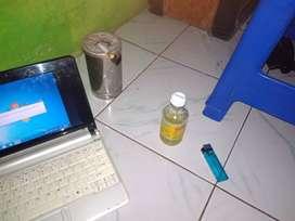 Jual notebook Acer aspire one happy normal siap pakai saja
