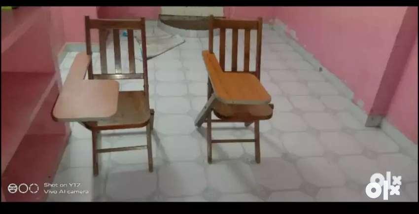 Kids study table ( teak wood) 0