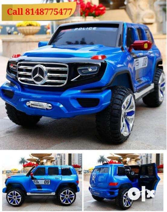 Benz Police Model Children Ride on Car with Remote Control 0