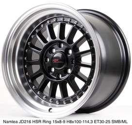warna baru NAMLEA JD216 HSR R15X8 H8X100-114,3 ET30 SMBML