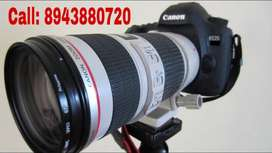 Camera for RENT.     Canon dslr