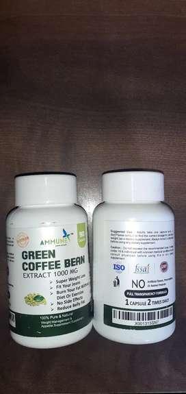 Green Coffee Bean Extract 1000mg