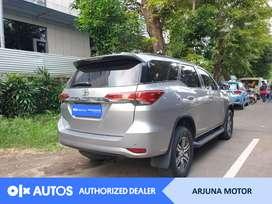 [OLX Autos] Toyota Fortuner 2017 2.4 G A/T Solar Silver #Arjuna Motor