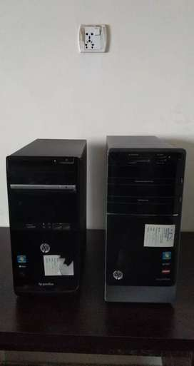 Hp pavilion AMD-6 graphics Machine & hp 19 inch lcd