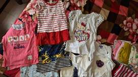 shoes, jeans, tops for kids in age group 2-4