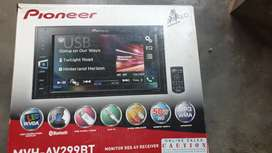 Pioneer car player and Morel Maximo sub woofer and speakers