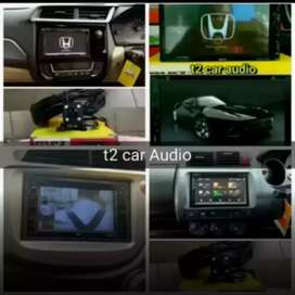 Dvd 2din android link 7inc for brio/mobilio/jazz mumer+camera hd bosku