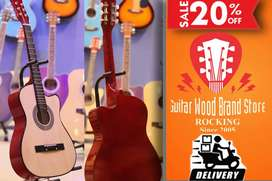 professional guitars (box packed)+picks+learning free cash on delivery