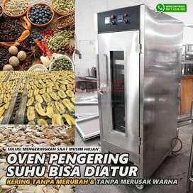 Oven pengering makanan kerupuk buah padi jagung di jambi