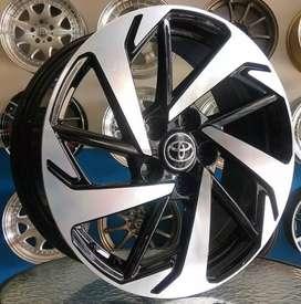 Velg Toyota Rush R17x7 5x114.3 bisa untuk Rush, Terios, Innova dll
