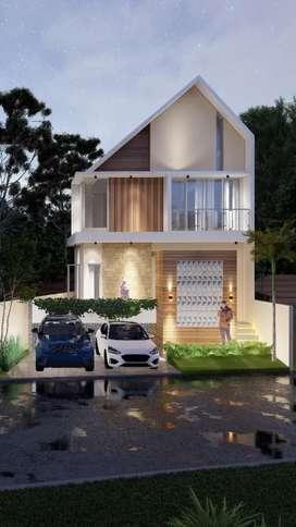 Ready stok 4 unit rumah grafika eksklusif di Banyumanik