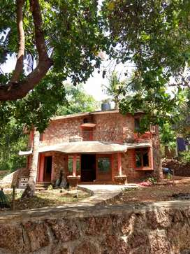 3BHK independent Villa with garden area, car park and gated compound