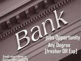 Current Openings For Banking Sectors