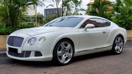 Bentley Continental GT AT 2012 White On Red Km.10rb