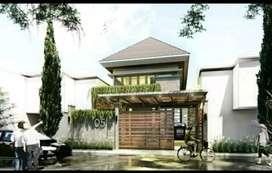 Rumah Kota Mojokerto 2 lantai Elegan