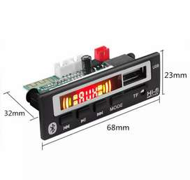 Tape modul audio mobil mp3 support bluetooth, USB drive, tf card 12V