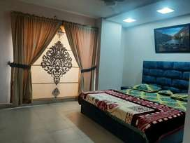 Luxury 1&2 bed for 1 day available for rent in bahra phase 4