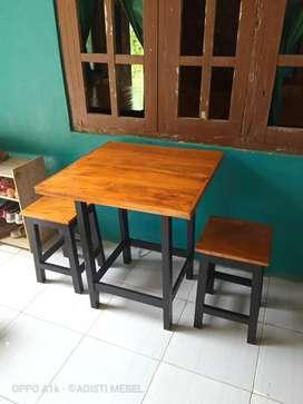Meja kursi warung cafe kedai