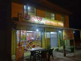 shop Restaurant furnished at main Location on Gulmarg highway at Magam