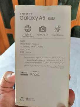 Samsung galexy A5 2017 dust and waterproof