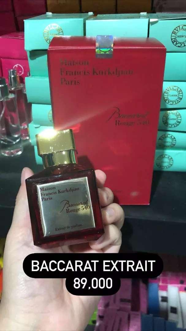 Parfum baccarat Rouge 540 0