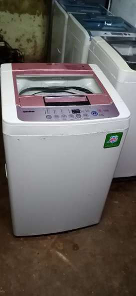 LG 6.0 kg fully automatic washing machine is available