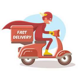 Biker delivery boy job vashi location