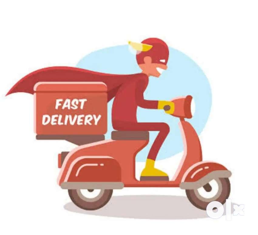 Biker delivery boy job vashi location