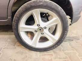 Alloy rim or tyre