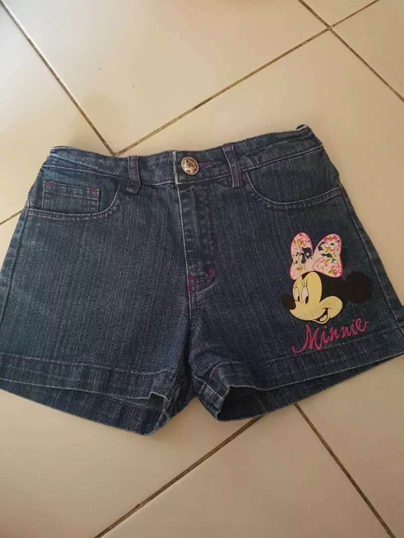Celana jeans pendek Disney uk 8th 0