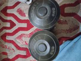 Used Dumbells 5kg Pair in good condition