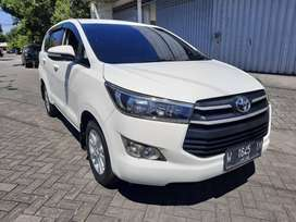 All New Toyota Kijang Innova Reborn 2.4 tipe G Manual 2017 wrn Putih.