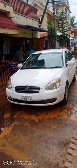My Hyundai Verna is in good condition