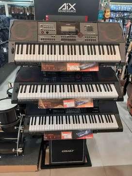 Keyboard Yamaha dan casio bisa cicil dgn proses kilat