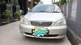 Toyota Altis G 1.8 MT 2004 Silver