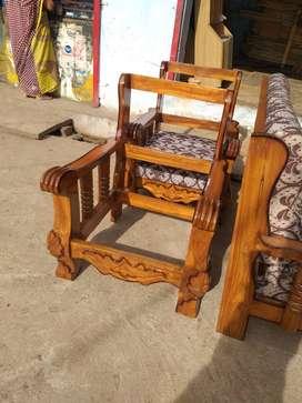 Sagwan sofa bed