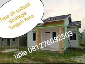 SUDAH READY STOK BOS RUMAH SUBSIDI TENGAH KOTA PEKANBARU