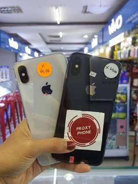 Iphone X 64gb Fullset bergaransi 3utools hijau! Termurah