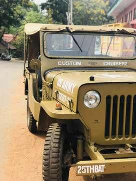 Mahindra Vintage Jeep