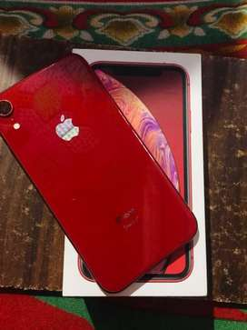 IPHONE XR 64 GB RED 100% CONDITION