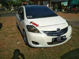 Vios putih Full upgrade