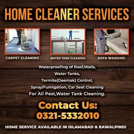 Sofa Cleaning, Carpet Cleaning, Car Seat Cleaning, Water Tank Cleaning