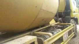 Truk mixer 3m³ mitsubisi 2016