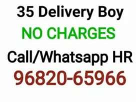Urgent  hiring for delivery  boy for lucknow  location