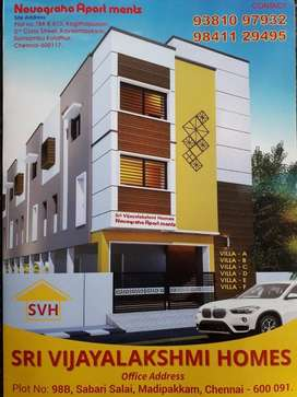EXCLUSIVE BUDGET APARTMENT FOR SALE @ MADIPAKKAM