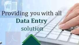 Urgent Base Hiring For Data Enrty