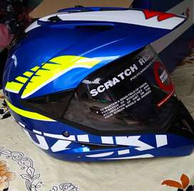 New model bike with helmet