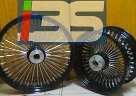 Spesial Kustom Velg Ruji Besar HD MOGE All type Motor Tapak Lebar