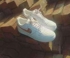 Nike airforce custom  uk8